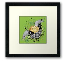 Abstract party design 4 Framed Print