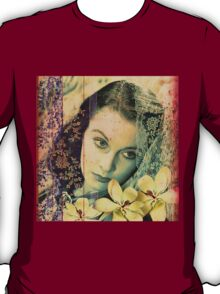 Scarlett O'Hara and the Magnolias of Tara T-Shirt