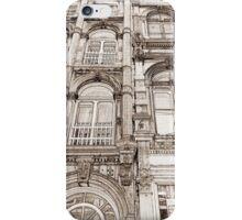 Facades - line art iPhone Case/Skin