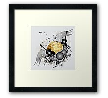 Abstract party design 5 Framed Print
