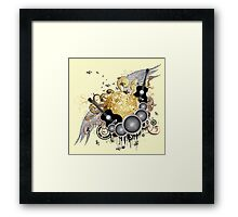 Abstract party design 6 Framed Print