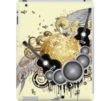 Abstract party design 6 iPad Case/Skin