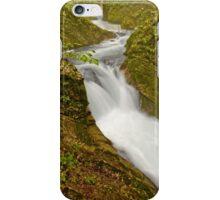 Stream through Vintgar Gorge, Slovenia iPhone Case/Skin