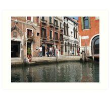 VENICE Tranquil waters Art Print