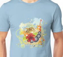 Tropical party poster Unisex T-Shirt