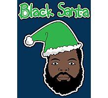 Black Santa Photographic Print