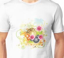 Tropical party poster 2 Unisex T-Shirt