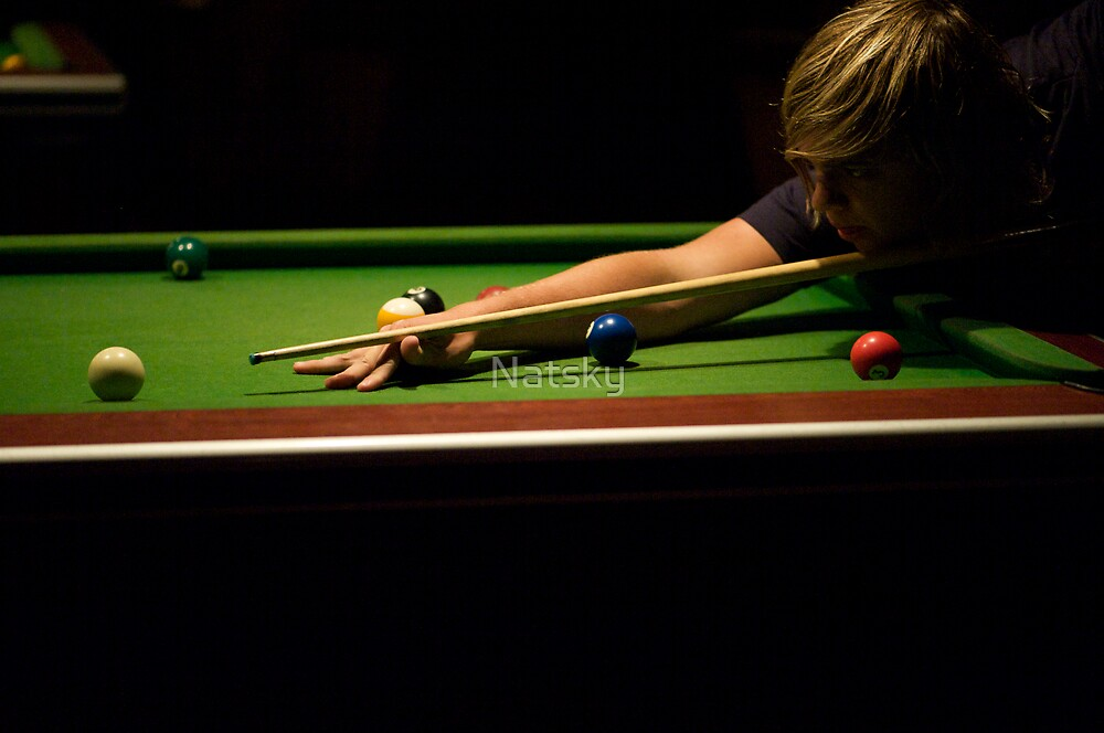 Concentration...@ ISO 6400! by Natsky