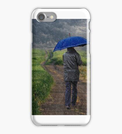 The blue walker iPhone Case/Skin