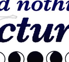 Wild Nothing - Nocturne Sticker