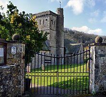 Saint Winifred's Church, Branscombe, Devon by lynn carter