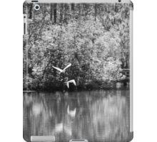 Two White Herons in Flight iPad Case/Skin