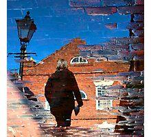 """Walking Reflection"" Photographic Print"