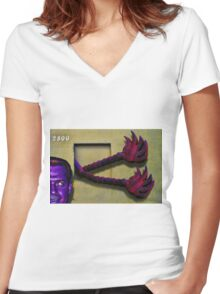 The Entertaining Women's Fitted V-Neck T-Shirt