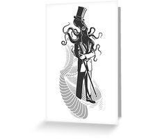 High Society Greeting Card