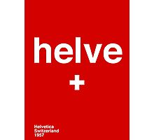 helve Photographic Print