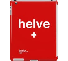 helve iPad Case/Skin