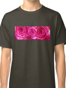 White pink roses 7 Classic T-Shirt