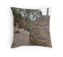 Wurlies or Beehives?   Sir Donald Bradman Drive Throw Pillow