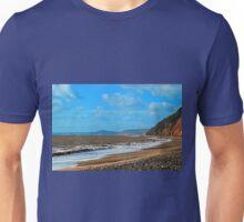 Branscombe Beach Devon UK Unisex T-Shirt