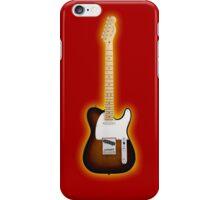Fender Telecaster Sunburst iPhone Case/Skin