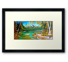 Autumn Mountain Framed Print
