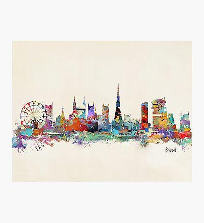 bristol england skyline Photographic Print