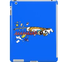 Hobbes Attacking Calvin-1 iPad Case/Skin