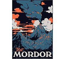 Visit Mordor Photographic Print