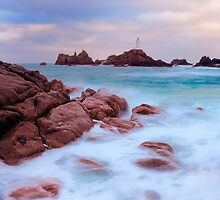Corbiere Lighthouse Revisited by Mark Bowden
