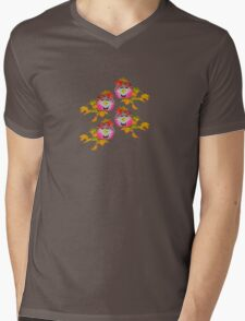 Pumpkin Boys t-shirt Mens V-Neck T-Shirt