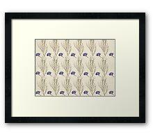 Blue Larkspur Framed Print