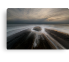 eye of the ocean Canvas Print