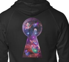 Alice in Wonderspace Zipped Hoodie
