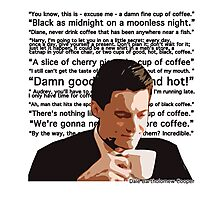 Agent Cooper - Coffee Photographic Print