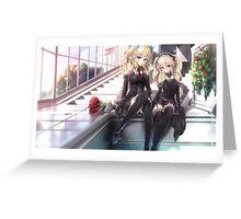 Boku wa Tomodachi ga Sukunai - Kashiwazaki Sena, Black Greeting Card