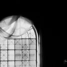 Arched Window Black and White #2 by Wayne King