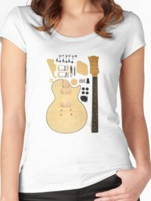 DIY Guitar Hero Women's Fitted Scoop T-Shirt