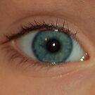 Eye of child by loiteke