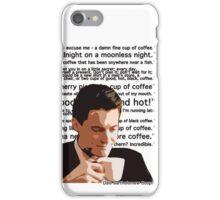 Agent Cooper - Coffee iPhone Case/Skin