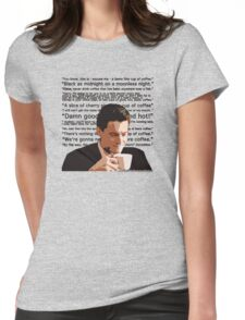 Agent Cooper - Coffee Womens Fitted T-Shirt