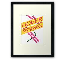 Hoverboard Design Framed Print