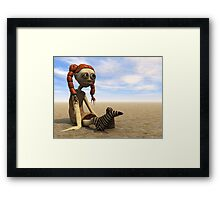 Some days are just like this Framed Print