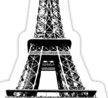 Eiffel Tower Digital Engraving Sticker