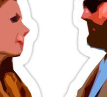 The Royal Tenenbaum - Margot and Richie  Sticker