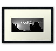 Morron Framed Print