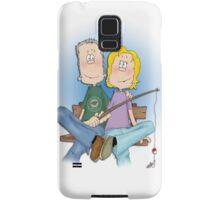 Gone Fishing Samsung Galaxy Case/Skin
