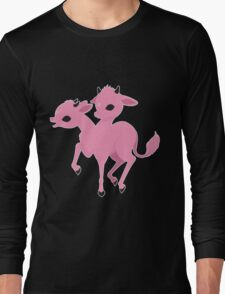 Mostro! - in pink! Long Sleeve T-Shirt
