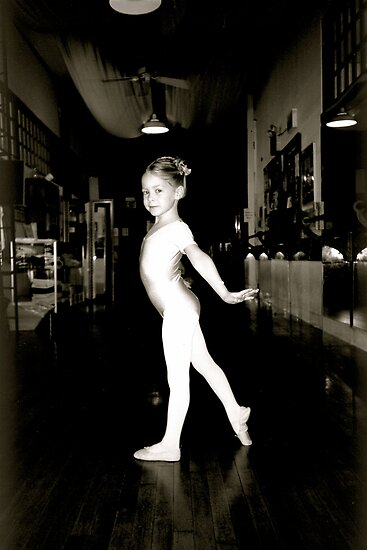 Just took my first ballet class. by Daniel Sorine