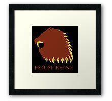 Game of Thrones - House Reyne Framed Print